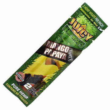 JUICY JAYS MANGO PAPAYA TWIST HEMP WRAPS