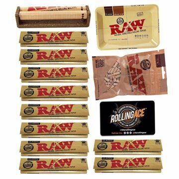 RAW CLASSIC KING SIZE SLIM MASTER SET STARTER BUNDLE WITH FILTERS