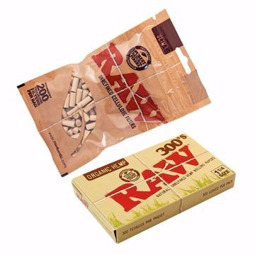 RAW ORGANIC 300's REFILL BUNDLE WITH FILTERS